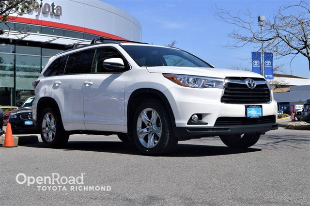 2015 TOYOTA Highlander Limited in Richmond, British Columbia