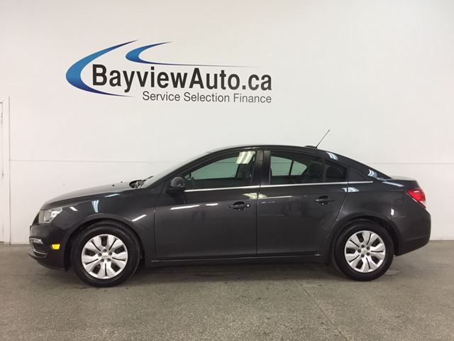 2016 CHEVROLET CRUZE - TURBO! REM START! A/C! MY LINK! REVERSE CAM! in Belleville, Ontario