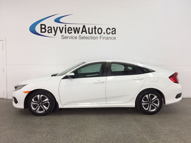 2016 HONDA CIVIC LX - 6 SPEED! HTD SEATS! REV CAM! HONDA LINK! in Belleville, Ontario