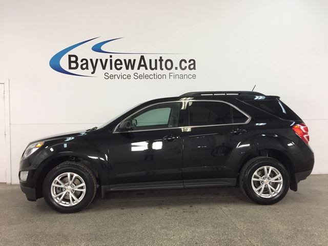 2017 CHEVROLET EQUINOX LT - REM START! SUNROOF! HTD SEATS! NAV! MY LINK! PIONEER! WIFI! PWR LIFTGATE! in Belleville, Ontario