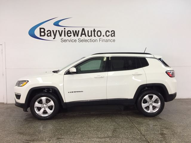 2018 JEEP COMPASS North - 4x4! ALLOYS! PUSH BUTTON START! U-CONNECT! in Belleville, Ontario