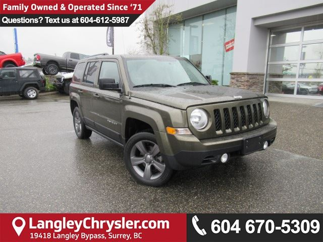 2015 JEEP PATRIOT Sport/North <B>*ACCIDENT FREE*1 OWNER*LEATHER*<b> in Surrey, British Columbia