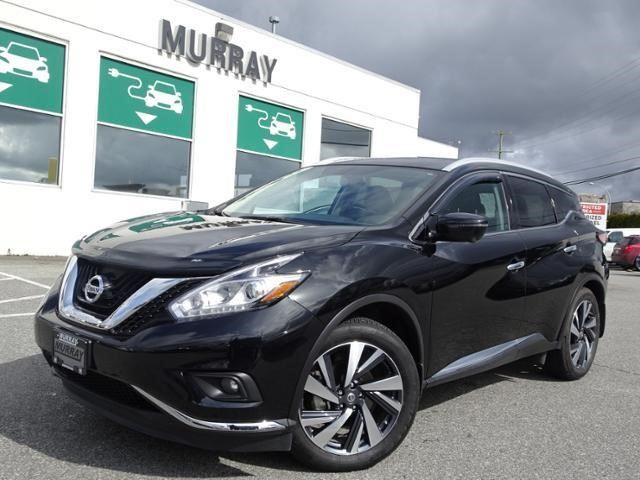 2017 NISSAN MURANO Platinum in Abbotsford, British Columbia