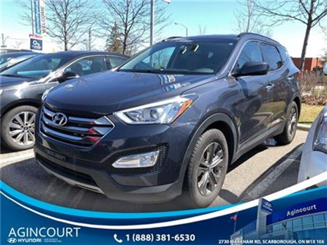 2013 HYUNDAI Santa Fe 2.4 Premium/BACKUP SENSORS/HEATED REAR/OFF LEASE in Toronto, Ontario