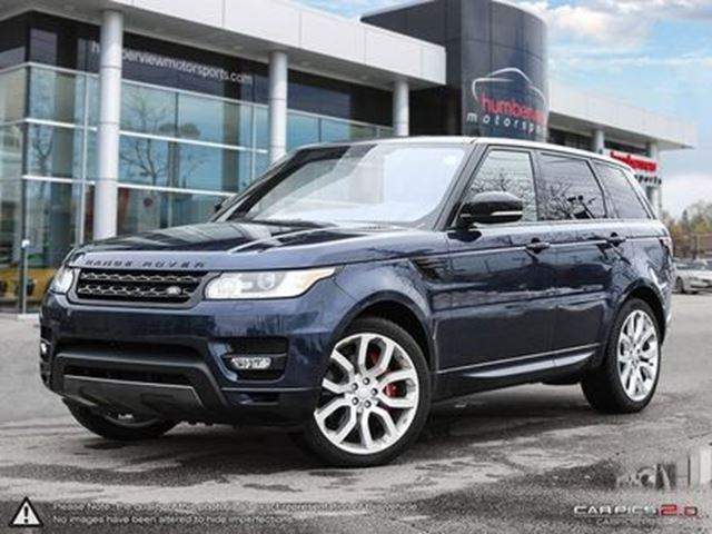 2017 LAND ROVER RANGE ROVER Sport V8 Supercharged in Mississauga, Ontario