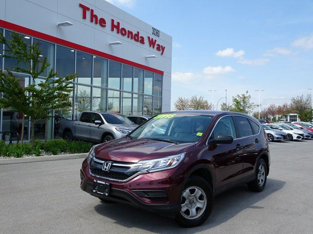 2015 HONDA CR-V LX 4WD / 2022 or 160,000kms in Abbotsford, British Columbia