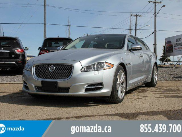 2011 JAGUAR XJ SERIES XJ XJL LEATHER SUNROOF FANTASTIC CONDITION in Edmonton, Alberta