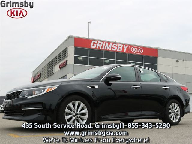 2016 KIA OPTIMA LX AT BLUETOOTH HEATED SEATS BACK UP CAM in Grimsby, Ontario