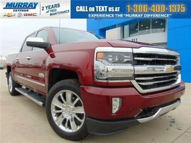 2017 Chevrolet Silverado 1500 High Country in Estevan, Saskatchewan