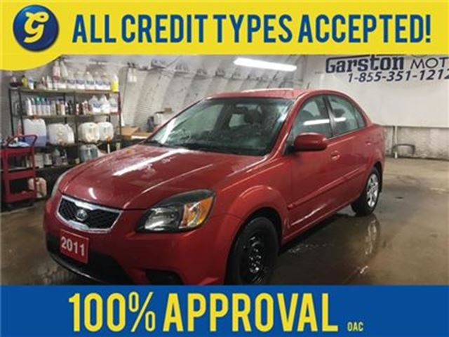 2011 KIA RIO EX Convenience*PHONE CONNECT*HEATED FRONT SEATS*KE in Cambridge, Ontario