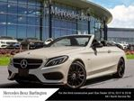 2018 Mercedes-Benz C-Class C300 4matic Cabriolet in Burlington, Ontario