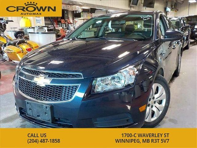 2014 CHEVROLET CRUZE 1LT **Local Manitoba Trade** Remote Starter** Blue in Winnipeg, Manitoba