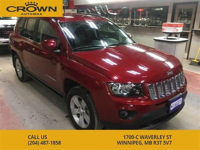 2014 JEEP COMPASS North 4WD ** No Accidents** Backup Camera** Heated in Winnipeg, Manitoba