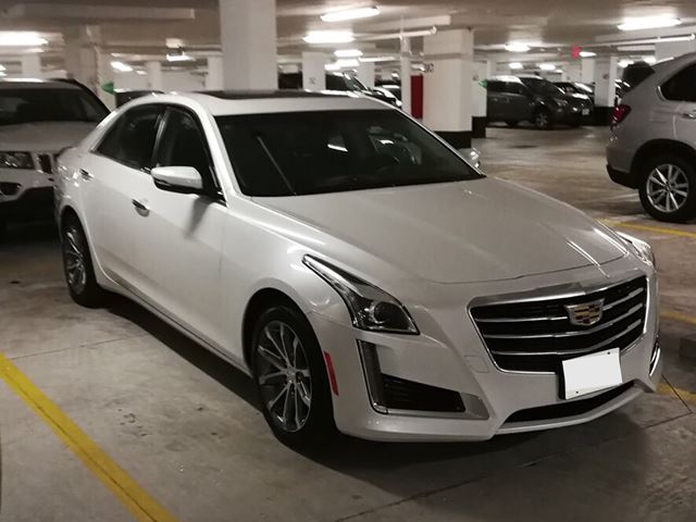 2016 CADILLAC CTS 4dr Sdn 3.6L Luxury Collection AWD in Mississauga, Ontario