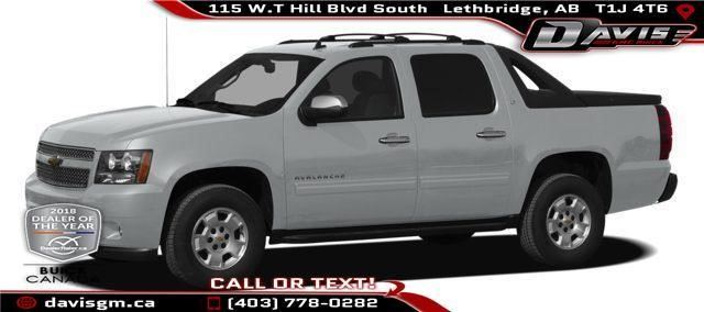2011 CHEVROLET AVALANCHE LT w/1SB in Lethbridge, Alberta