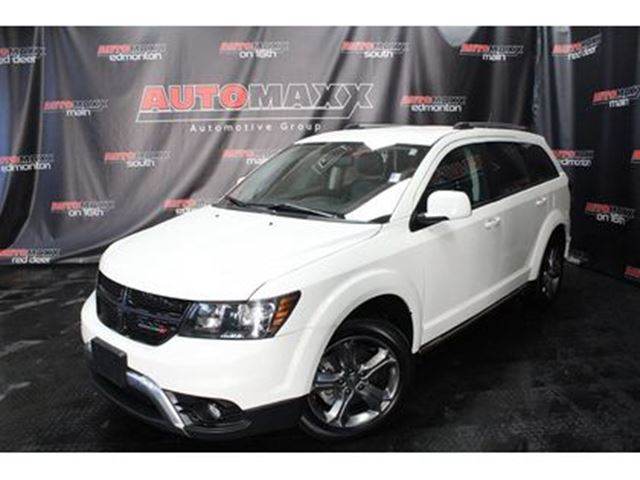 2017 DODGE JOURNEY Crossroad AWD! in Calgary, Alberta
