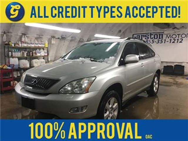 2007 LEXUS RX 350 AWD********AS IS SALE*******LEATHER*POWER SUNROOF* in Cambridge, Ontario