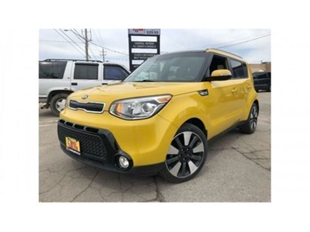 2014 KIA SOUL SX LEATHER NAVIGATION PANORAMA ROOF in St Catharines, Ontario
