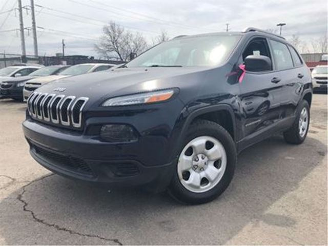 2014 JEEP CHEROKEE Sport 4x4 CRUISE CONTROL in St Catharines, Ontario