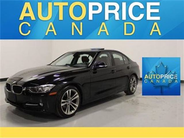 2014 BMW 3 SERIES SPORT PKG NAVIGATION MOONROOF in Mississauga, Ontario