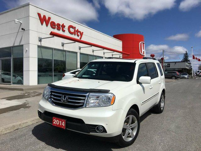 2014 HONDA PILOT TOURING,LEATHER,LOADED! in Belleville, Ontario
