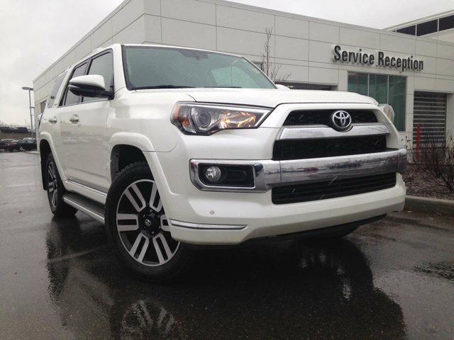 2016 TOYOTA 4RUNNER Limited Navigation, Heated/Cooled Seats, Backup Camera in Edmonton, Alberta