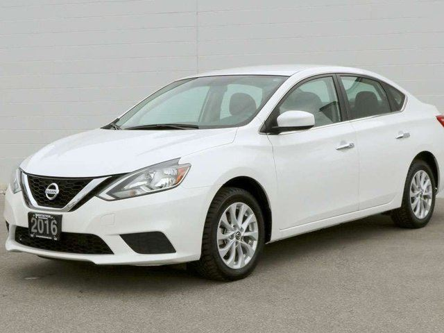 2016 NISSAN SENTRA 1.8 SV 4dr Sedan in Penticton, British Columbia