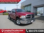 2013 Dodge RAM 1500 ST <B>*ACCIDENT FREE*1 OWNER*POWER GROUP*<b> in Surrey, British Columbia