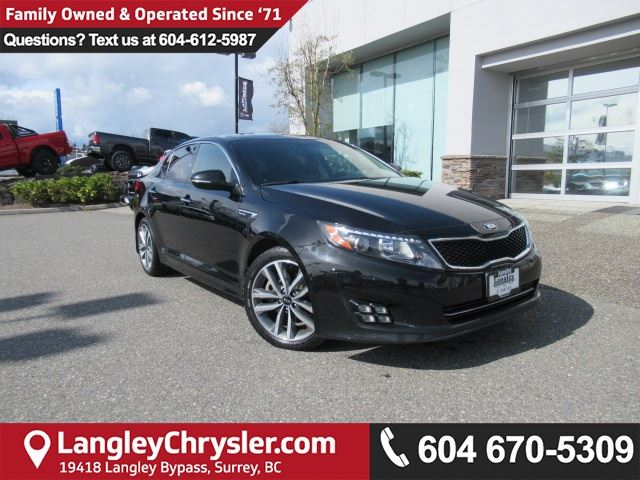 2015 KIA OPTIMA SX Turbo in Surrey, British Columbia