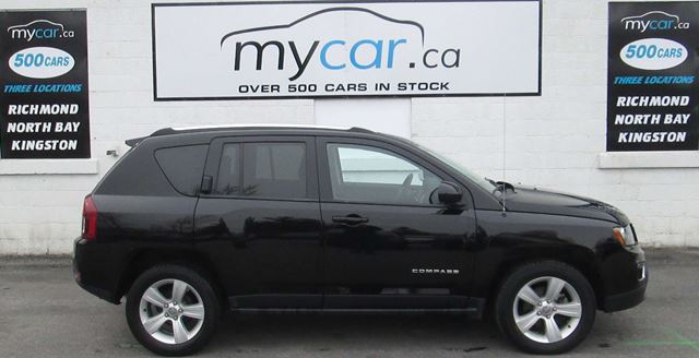 2016 JEEP COMPASS Sport/North HIGH ALTITUDE. LEATHER, SUNROOF, HEATED SEATS,!! in Kingston, Ontario