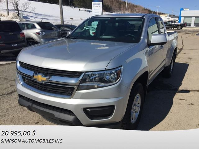 2015 Chevrolet Colorado 2WD Base in Gaspe, Quebec
