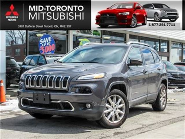 2017 JEEP CHEROKEE Limited Leather Nav Back Up Camera BlindSpot in Toronto, Ontario