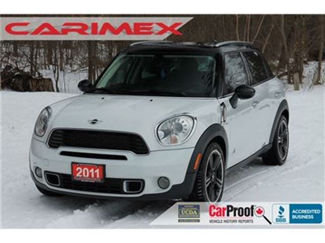 2011 MINI COOPER Countryman AWD   CERTIFIED in Kitchener, Ontario