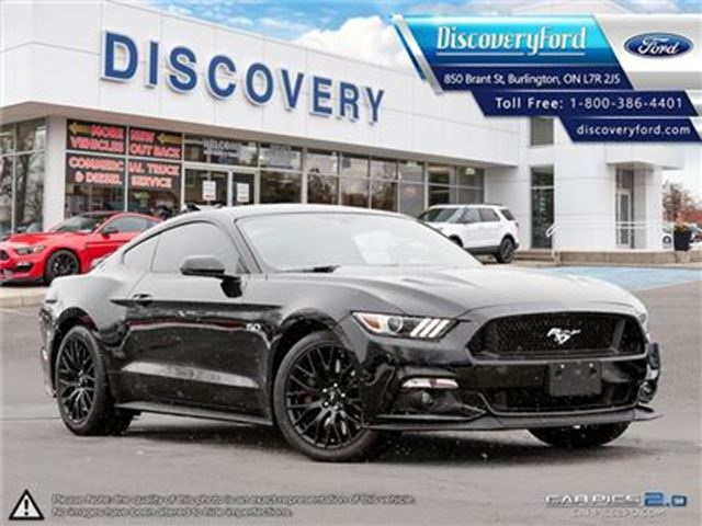 2016 FORD MUSTANG GT Premium LEATHER NAV in Burlington, Ontario