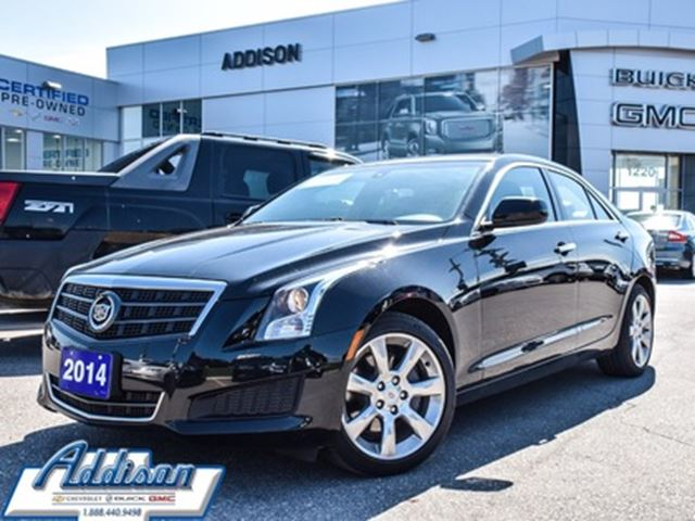 2014 CADILLAC ATS 2.0L Turbo all wheel drive in Mississauga, Ontario