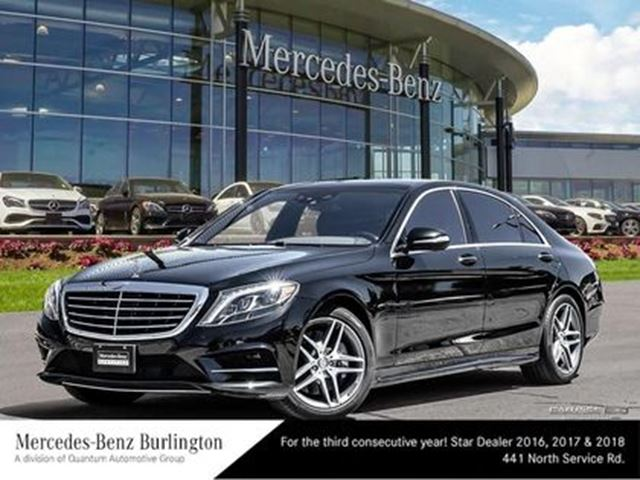 2015 MERCEDES-BENZ S550 4matic Sedan (LWB) in Burlington, Ontario