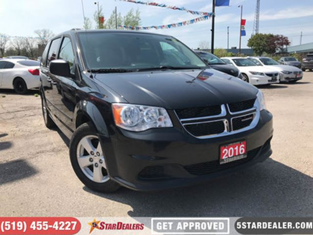2016 DODGE GRAND CARAVAN SE   APPLY & GET APPROVED TODAY in London, Ontario