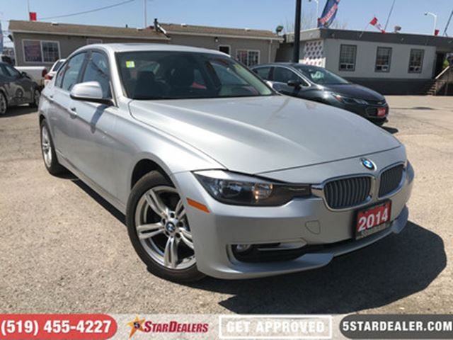 2014 BMW 3 SERIES xDrive   LEATHER   NAV   ROOF in London, Ontario