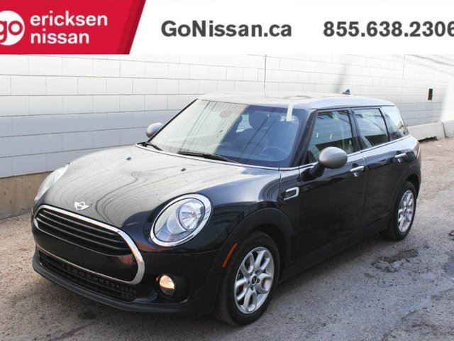 2017 MINI COOPER CLUBMAN: 4 DOOR, DUAL SUNROOF, LEATHER SEATS in Edmonton, Alberta