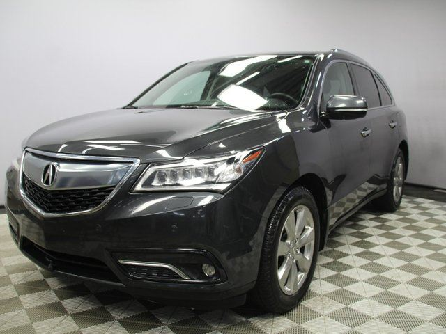 2016 ACURA MDX Elite SH-AWD 7 Seats - Local One Owner Trade In | No Accidents | Factory Remote Starter | Navigation | Back Up Camera | Birds Eye View Camera | Rear DVD | Heated/Cooled Front Seats | Heated Rear Seats | 3 Zone Climate Control with AC | Memory Seat |  in Edmonton, Alberta