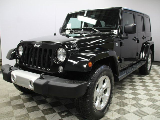 2015 JEEP WRANGLER Unlimited SAHA in Edmonton, Alberta