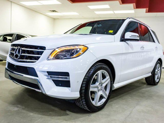 2015 MERCEDES-BENZ M-CLASS Diesel, 3M. Navigation, 360 Camera, Heated Seats, Sunroof, Parking Sonar, Power Everything, AWD in Edmonton, Alberta
