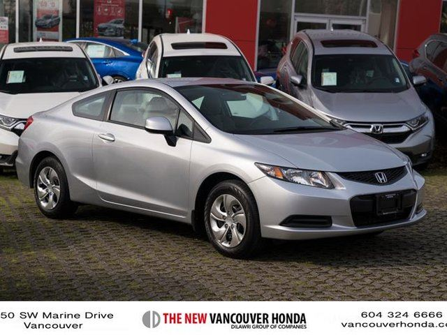 2013 HONDA CIVIC Coupe LX 5AT in Vancouver, British Columbia