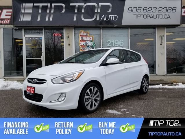2017 HYUNDAI ACCENT SE ** Heated Seats, Bluetooth, Sunroof ** in Bowmanville, Ontario