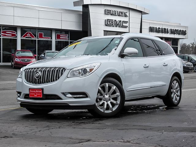2017 BUICK ENCLAVE PREMIUM AWD WITH SUNROOF..,ONE OWNER in Virgil, Ontario