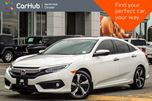 2016 Honda Civic Touring Sunroof Keyless_Go Heat Seats Backup_Cam 17Alloys in Thornhill, Ontario