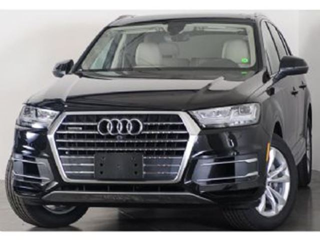 2018 AUDI Q7 DEMO S-LINE SUPERCHARGED ENGINE in Mississauga, Ontario