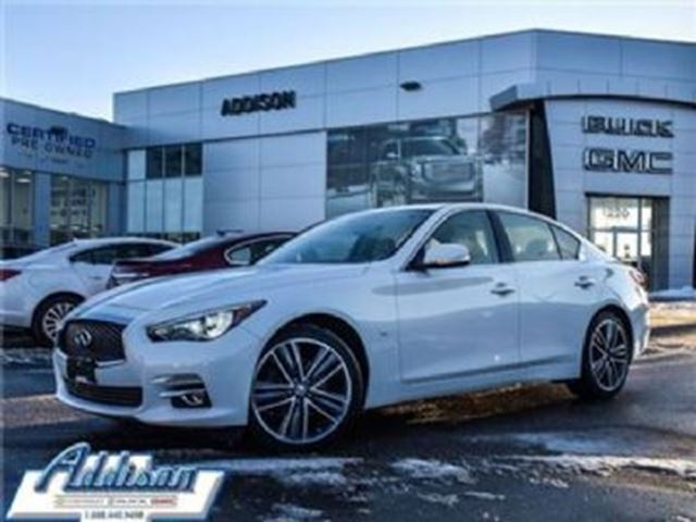 2015 INFINITI Q50 3.7 AWD Limited in Mississauga, Ontario