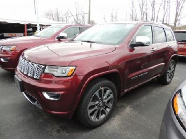 2018 JEEP GRAND CHEROKEE Overland in Mississauga, Ontario