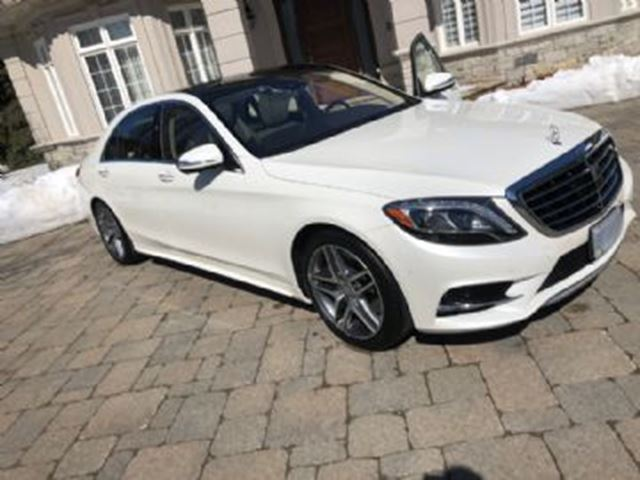 2017 MERCEDES-BENZ S-CLASS S550 4MATIC Sedan in Mississauga, Ontario